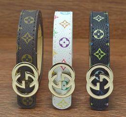 Wholesale Luxury Baby Girl - 2017 luxury brand designer children belts luxury fashion casual style boys girls belt baby letter buckle leather kids belts 80cm