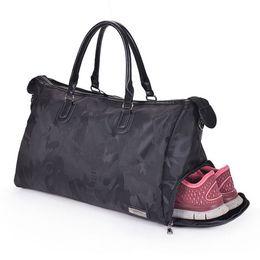 f26f65a16a8 Fitness Shoulder Gym Bag for shoes Waterproof bags Portable Training men  women Travel handbags Yoga sac de sport Tas XA510-1WA