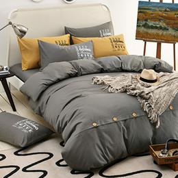Deutschland Normallackbaumwoll einfache Königin bequeme Bett Satz RUIYEE Art und Weise aktive Druckbogen King-Size-Bettbezug Kissenbezug Versorgung