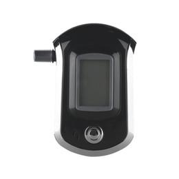 Alta Qualidade ALC Analisador de Respiração Inteligente Alcohol Digital LCD Analisador de Bafômetro AT6000 T0.2