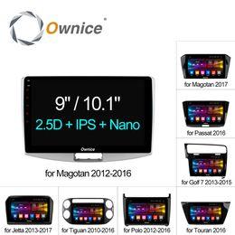 """Argentina Ownice C500 + Octa Core 10.1 """"/ 9"""" Android 6.0 Radio del coche Reproductor de DVD GPS DVD DEL COCHE Para VW Magotan POLO PASSAT Golf 7 / R / GTE Tiguan Touran Jetta Suministro"""