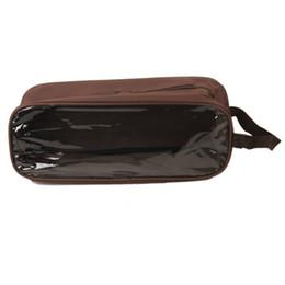 Viajes de viaje online-Travel Shoe Bag Box Case Storage Organizer Trips Tidy Waterproof