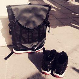 59f5880d172 Luxury bag 11 Bags bred Legend Blue Men Backpacks Basketball Bag 11s Sport  Backpack School Bag For Teenager men women Sport Outdoor Packs
