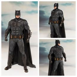 Wholesale Statue Decorations - No Box 19cm DC justice League Action Figure Toy Batman Statue ARTFX Collection Model Brinquedos Figurals Decoration Gift