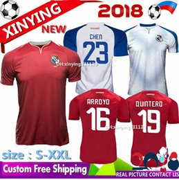 Wholesale red nurse - size S - XXL 2018 world cup SQUAD OF PANAMA soccer jersey 18 19 home away Roberto Nurse Aníbal Godoy Baloy BROWN Football shirts