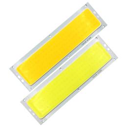 домашний источник Скидка 120*36 мм прямоугольник COB Совет лампа 10 Вт 12 В светодиодный источник света 1000LM для DIY автомобилей работы декор лампы дом автомобильное освещение частей