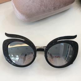 Katzenaugenrahmen rhinestones online-Planke neue heiße acetat rahmen cat eye sonnenbrille frauen butterfly shades mode klassischen design mit strass