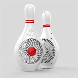 Canada Ventilateur portatif Bowling Trois fichiers Sept feuilles USB Creative Mini chargeur ventilateur Offre