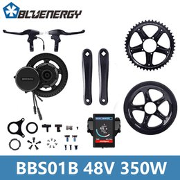 Wholesale Electric Bicycle Motor Controller - Free Tools Bafang 48V 350W BBS01 BB68 mm Mid Drive Motor Ebike Kit LCD 850C Display Electric Bicycle Controller Kits
