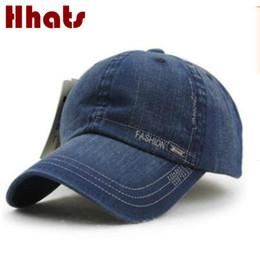 2019 chapeaux mâle denim casquette de baseball en denim vintage de haute qualité pour femmes et hommes chapeaux mâle denim pas cher