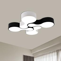 Plafoniere a led moderne creative per soggiorno Camera da letto Balcone Cucina Sala da pranzo Lampade da soffitto montate su superficie da illuminazione industriale rgb fornitori