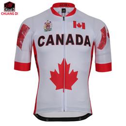 Канада флаг лето мужская велоспорт трикотажные изделия Велоспорт одежда команды MTB / дорожный велосипед одежда велосипед одежда полиэстер 100% от