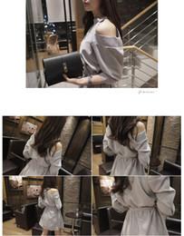 a48ef29c8 2018 primavera verano nueva coreana dulce hueco Strapless delgado delgado  vestido de encaje de manga de color femenino de cinco