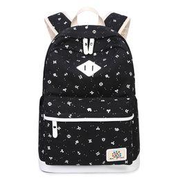 sacos da lona da lona do estilo de japão Desconto 2018 nova Lona Mochila Laptop Bags Japão estilo Coreano Escola de Lazer Ombros Saco Mulheres Backpacfor Adolescentes Menina
