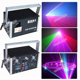 Wholesale Laser Green Module - Full Color 4w Laser Spider Moving Head Stage RGB Laser Module Light Disco dj bar Club Lighting