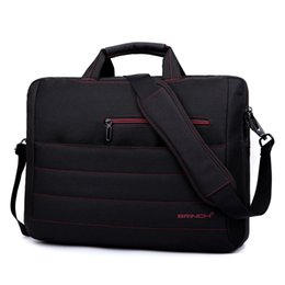 Wholesale 12 Laptop Shoulder Bag - BRINCH laptop bag 15.6 inch 17.3 inch business woman with a single shoulder laptop bag BW-214