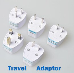 Wholesale Travel Adaptors Uk - Universal Travel Adapter AU US EU to UK Adapter Converter,3 Pin AC Power Plug Adaptor Connector