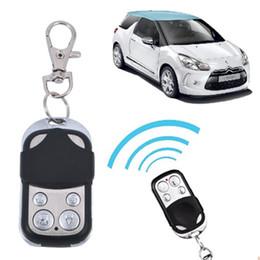 Wholesale Controlling Car Keys - Universal Wireless Auto Remote Control Cloning Universal Gate Garage Door Control Fob 433mhz 433.92mhz Key Keychain car Remote Control