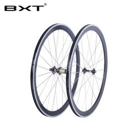 2019 rodas de estrada de carbono china 2018 BXT 700C rodas de liga de freio V-NO estrada de carbono bicicleta clincher de alumínio clincher rodado novatec hub rodas de bicicleta chinês