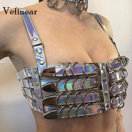 7ccc0e747e897f Vefinear 2018 New Pattern Tube Top Vest Sexy Fashion Hollow Out Bling Crop Top  Summer Club Night Party Wear Women Tops Blusas