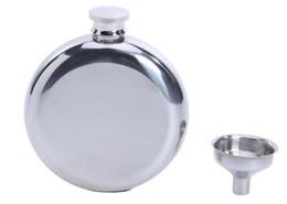 5oz paslanmaz çelik yuvarlak cep şişesi huni cep şişesi ağırlığı yaklaşık 100g şarap tenceresi nereden