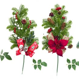 1.2m Christmas Holly Leaf LED Tree with Red BerriesIndoor Home Decoration