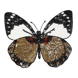 Canada 1 PCS New Butterfly Patch T-shirt Pantalon Paillettes Ironning On Patch Trous De Couture Applique Vêtements Accessoires Décoratifs Offre