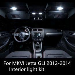 Shinman 9X интерьер свет комплект для VW MK6 Jetta6 GLI 2012-2014 светодиодные лампы Высокий яркий лампа для чтения автомобилей интерьер свет аксессуары от