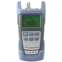 Wholesale Fc Optical Connector - Free Shipping FTTH Fiber Optical Power Fiber Cable Tester range:-70dBm~+10dBm SC and FC Connector