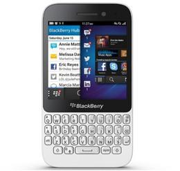 Ежевика q5 онлайн-Оригинальный Blackberry Q5 3G 4G 5.0 MP двухъядерный 2 ГБ оперативной памяти 8 ГБ ROM Blackberry с QWERTY клавиатуры Bluetooth отремонтированный мобильный телефон