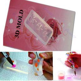 синенсис Скидка 10pcs / lot Sinensis цветок 3D акриловые ногтей Art DIY украшения Y106