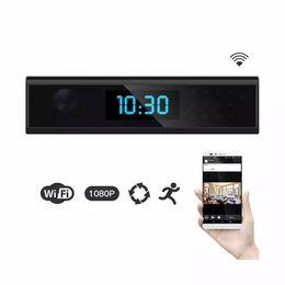 Wireless cam battery on-line-1080 P WiFi Nanny Relógio Da Câmera com 165 graus Sem Fio Home Security Cam Movimento Ativado Parede / Alimentado Por Bateria, Controle Remoto App