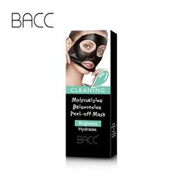 2019 nez gras BACC Blackhead Remover Masque hydratant à la kératine Bamboo Charcoal Visage hydratant Clean Masque Peel Off Black Masque facial de jaguartee