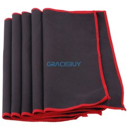 Wholesale Guitar Cleaning - Wholesale- Guitar Polish Cleaning Cloth Cleaner Guitar Parts And Accessories For Guitar Bass Violin 5 pcs pano de guitarra