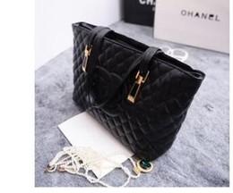 Wholesale Nylon Leather Handbags - HOT SALE ladies designer handbag high quality lady clutch WOMEN'S BAGS SHOULDER Totes BAG HANDBAGS