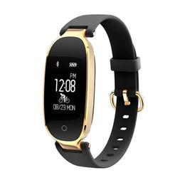 Мода S3 Bluetooth водонепроницаемый смарт-часы мода женщины дамы монитор сердечного ритма фитнес-трекер Smartwatch для Android IOS от Поставщики умные женские часы