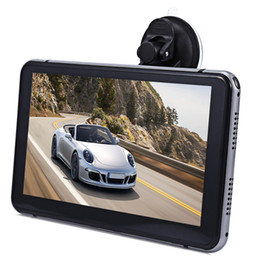 Wholesale Gps Sd Navigation Card - 7 inch Vehicle Android Car DVR Touch Screen Video Player WiFi HD 1080P Automobile Data Car Recorder with GPS Navigation