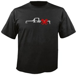 free shipping engine Promo Codes - LS TRUCK w PISTONS T SHIRT 73-87 c10 lsx 5.3 6.0 swap engine chevy gmc kit Funny free shipping Unisex Casual tee top