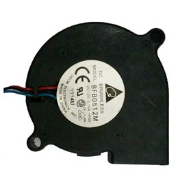 Wholesale Dc Cooling Blower Fan 12v - DC 12V 0.15A 2 Terminals Cooling Blower Fan 50mmx15mm for Laptop