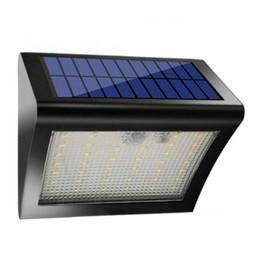 Wholesale Lamp 38 Led - LED Solar Light 38 LED PIR Motion Sensor Light IP65 Outdoor Waterproof Solar Wall Lamp For Home Yard Street Corridor