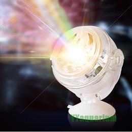 serbatoio di pesci dell'acquario dei leds Sconti Nuovo acquario anfibio sommergibile LED Spotlight colorato lampada impermeabile luce decorazione di fondo per piscina di pesci stagno stagni