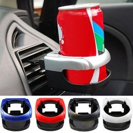 Wholesale drink clip holder - Clip-on Auto Car Truck Vehicle Air Condition Vent Outlet Can Drinking Water Bottle Coffee Cup Mount Stand Holder Accessories MMA182