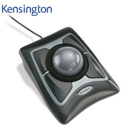 Wholesale pc ball mouse - Kensington Original Trackball Expert Mouse Optical USB for PC or Laptop(Large Ball Scroll Ring) with Retail Packaging