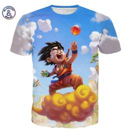 Naruto anime t shirts online-Poliéster Verano Hombre Mujer Dragon Ball Camiseta Naruto 3d Camiseta Dibujos animados Anime Dragon Ball Imprimir Camiseta de manga corta Nueva paño
