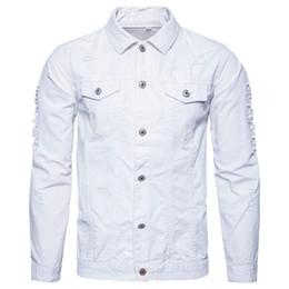 Promotion Vente Homme Jeans Veste Blanc nzYPY8rq