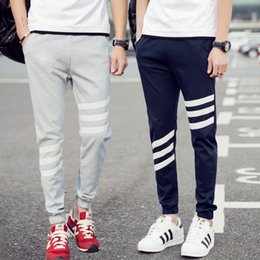 Wholesale Plus Size Women Printed Pants - Pants Joggers Track Pants Men Women Sweatpants Polyester Full Length Drawstring Stripe Print Midweight Active Casual Plus Size M-5XL