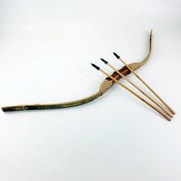 Луки и стрелы набор ностальгические дети дети деревянная игрушка традиционное оружие интересно весело игрушки тенденция мода подарок для 3-14years старый от