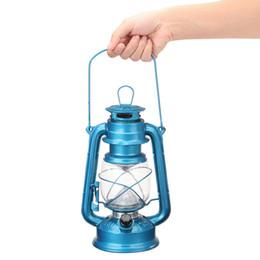 2019 luces de emergencia vintage Al aire libre Protable Vintage Style 15 LED Luz de emergencia con pilas Interior de la pesca que acampa al aire libre Linterna de huracanes luces de emergencia vintage baratos