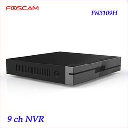 Wholesale onvif h 264 - Newest Foscam NVR FN3109H 9CH HD IP Cameras Input H.264 MJPEG ONVIF NVR