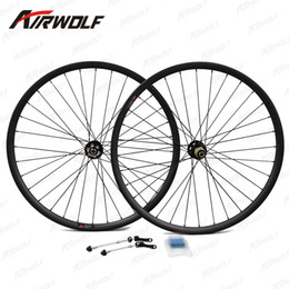 Wholesale 26 rear bicycle wheel - Top quality carbon wheels toray t800 bicycle wheels 26 matte or glossy 3K 12K UD 29er carbon mtb wheels